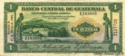 1 Quetzal GUATEMALA  1934 P.014a SUP