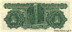 1 Quetzal GUATEMALA  1938 P.014a SUP+