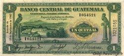 1 Quetzal GUATEMALA  1942 P.014a NEUF