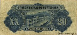 20 Quetzales GUATEMALA  1944 P.018c TB