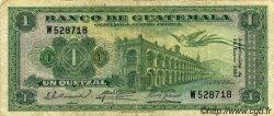 1 Quetzal GUATEMALA  1957 P.036 TTB