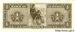 50 Centavos de Quetzal GUATEMALA  1966 P.051 pr.NEUF
