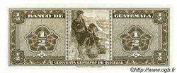 50 Centavos de Quetzal GUATEMALA  1968 P.051 NEUF