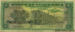 1 Quetzal GUATEMALA  1968 P.052 B+