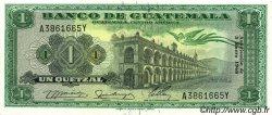 1 Quetzal GUATEMALA  1968 P.052 NEUF