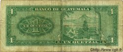 1 Quetzal GUATEMALA  1969 P.052 TB