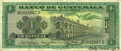 1 Quetzal GUATEMALA  1971 P.052 TTB