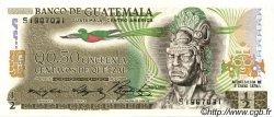 50 Centavos de Quetzal GUATEMALA  1975 P.058b NEUF