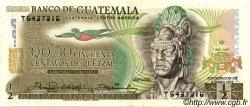 50 Centavos de Quetzal GUATEMALA  1983 P.058c TTB+