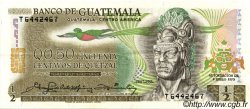 50 Centavos de Quetzal GUATEMALA  1979 P.058c SUP+