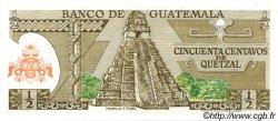50 Centavos de Quetzal GUATEMALA  1981 P.058c NEUF
