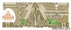 50 Centavos de Quetzal GUATEMALA  1982 P.058c NEUF