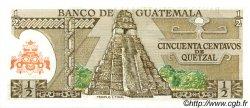 50 Centavos de Quetzal GUATEMALA  1983 P.058c NEUF