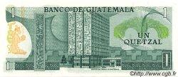 1 Quetzal GUATEMALA  1972 P.059a NEUF