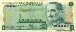 1 Quetzal GUATEMALA  1973 P.059a pr.TTB