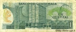 1 Quetzal GUATEMALA  1978 P.059c TTB