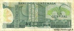 1 Quetzal GUATEMALA  1980 P.059c TTB