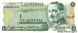 1 Quetzal GUATEMALA  1980 P.059c NEUF