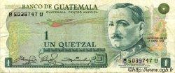 1 Quetzal GUATEMALA  1981 P.059c TTB