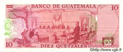 10 Quetzales GUATEMALA  1982 P.061c NEUF