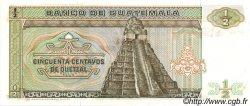 50 Centavos de Quetzal GUATEMALA  1983 P.065 pr.NEUF