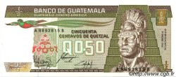 50 Centavos de Quetzal GUATEMALA  1985 P.065 NEUF