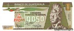 50 Centavos de Quetzal GUATEMALA  1987 P.065 NEUF