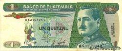 1 Quetzal GUATEMALA  1989 P.066 pr.SPL