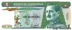 1 Quetzal GUATEMALA  1989 P.066 NEUF