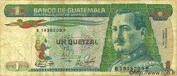 1 Quetzal GUATEMALA  1983 P.066 B à TB