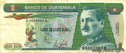 1 Quetzal GUATEMALA  1983 P.066 TTB