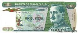 1 Quetzal GUATEMALA  1986 P.066 NEUF