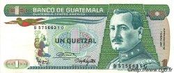 1 Quetzal GUATEMALA  1987 P.066 SUP