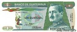 1 Quetzal GUATEMALA  1988 P.066 pr.NEUF
