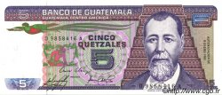 5 Quetzales GUATEMALA  1985 P.067 pr.NEUF