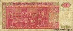 10 Quetzales GUATEMALA  1988 P.068 TB