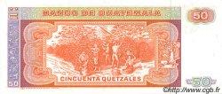 50 Quetzales GUATEMALA  1986 P.070 NEUF