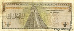 50 Centavos de Quetzal GUATEMALA  1992 P.072b pr.TTB