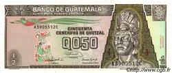 50 Centavos de Quetzal GUATEMALA  1992 P.072b pr.NEUF