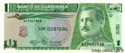 1 Quetzal GUATEMALA  1990 P.073a pr.NEUF