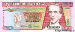 10 Quetzales GUATEMALA  1990 P.075 NEUF