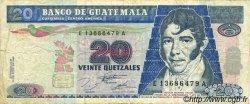 20 Quetzales GUATEMALA  1995 P.095 TB