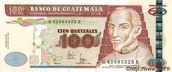 100 Quetzales GUATEMALA  2001 P.104 NEUF