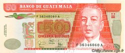 50 Quetzales GUATEMALA  2001 P.105 NEUF