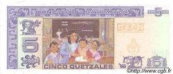 5 Quetzales GUATEMALA  2003 P.106a NEUF