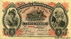 5 Pesos GUATEMALA  1917 PS.102c TTB+