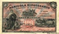 100 Pesos GUATEMALA  1926 PS.105e SUP