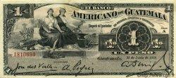 1 Peso GUATEMALA  1917 PS.111b TTB+