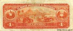 1 Peso GUATEMALA  1918 PS.111b SUP à SPL