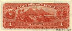 1 Peso GUATEMALA  1923 PS.116 SUP